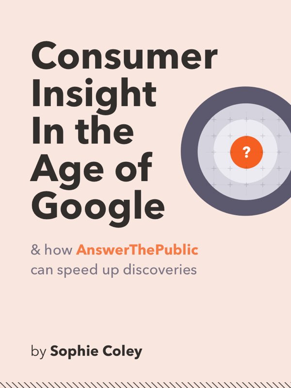 Consumer Insight in the age of Google book cover